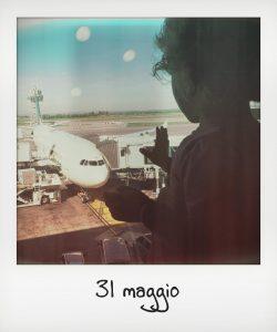 Raggiungere gli aeroporti di Roma, una bambina in viaggio