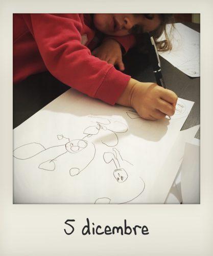La letterina a Babbo Natale di una bambina di 3 anni