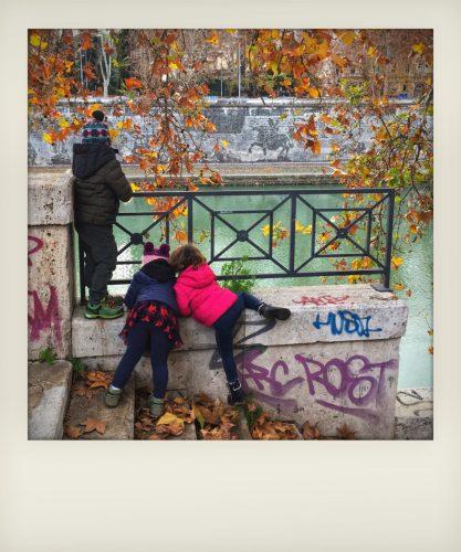 Bambini in vacanza a Roma: i murales di Kentridge