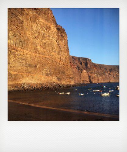 Mare a gennaio a La Gomera