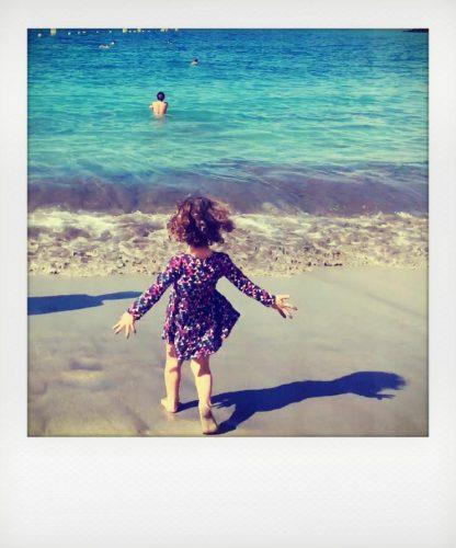 Al mare in invero alle Canarie