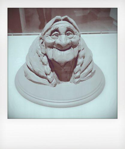 Pixar a Roma - modellino di Coco