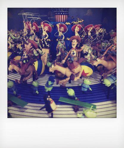 Pixar a Roma: lo zootropio di Toy story