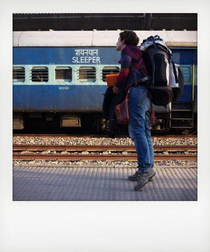 Viaggio in treno notturno