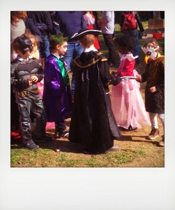 Le maschere di Carnevale dei bambini
