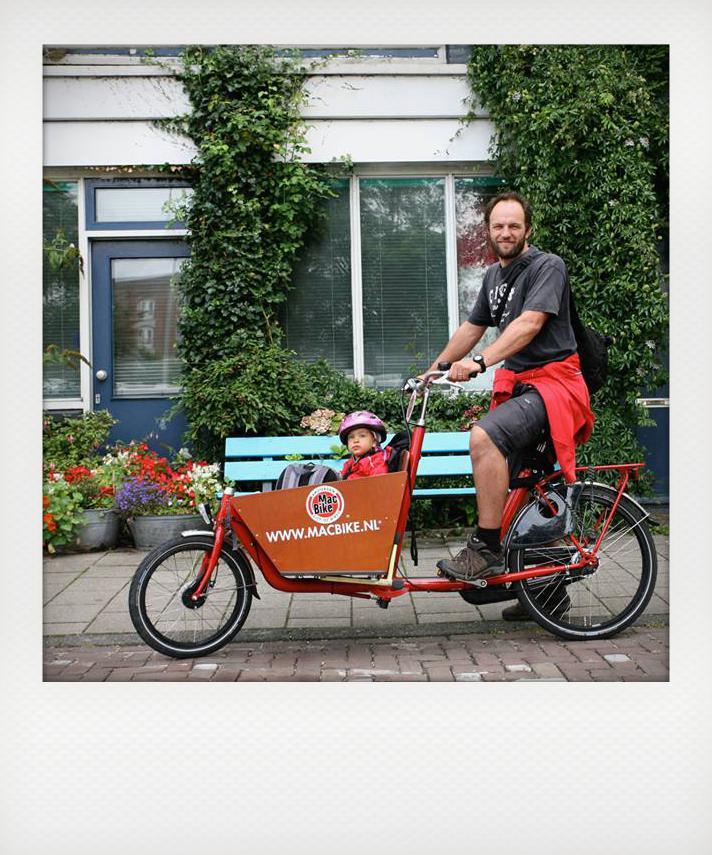 Amsterdam in bici