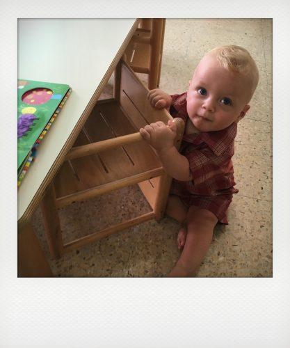 Bambino all'asilo nido