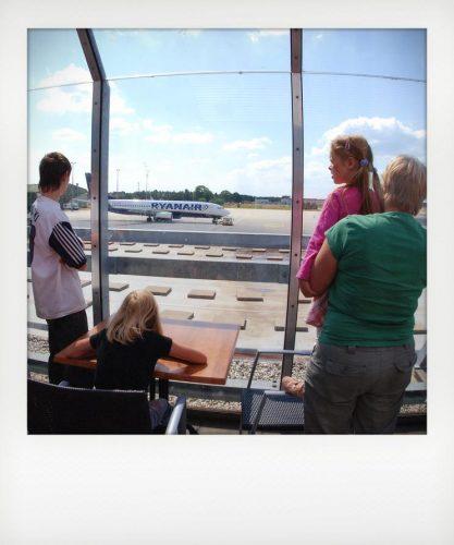Planespotting con bambini